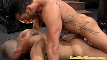 Clean muscly stud ass nailing