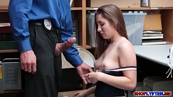 She's being question but getting fucked