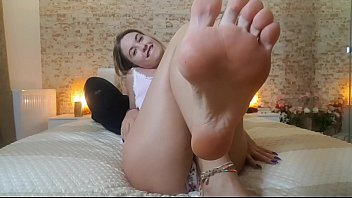 Cum countdown feet - Preview - foot fetish vid