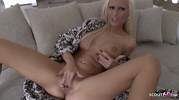Quick German Dirty Talk JOI Masturbation with Tight Tini