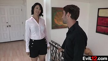 Beautiful Stepmom Gets Seduced By Her Stepson