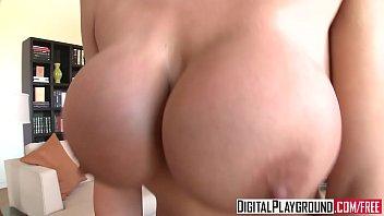 (Alanah Rae) gives a pov blowjob and tit job - Digital Playground