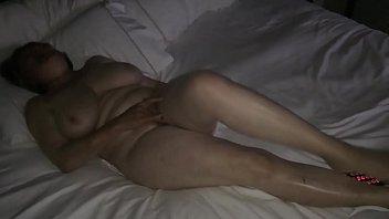 Mom masturbating to hotel porn by MarieRocks thumbnail