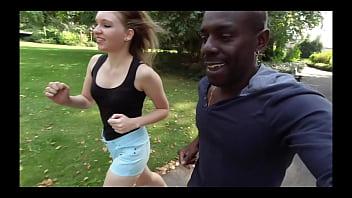 Teen Lyna Jade hook up on street by Joss LescafPart1