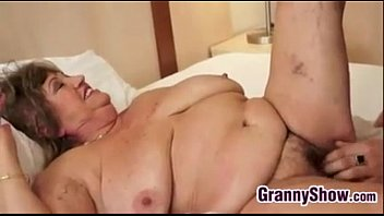 Big Grandma And Her Younger Lover Fucking pornhub video
