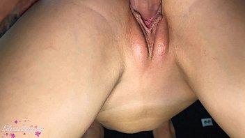 Lover Sensual Fuck Narrow Pussy Girlfriend - Closeup Creampie