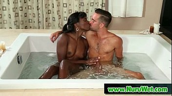Nuru Masseuse Gives Wet Blowjob with Happy Ending 02