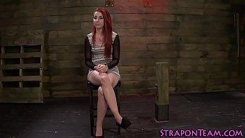 Bdsm lesbian face strapon   bondage   hd   lezdom