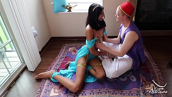 Costume disney princess teen - Slutty desi princess jasmine blows aladdin on magic carpet