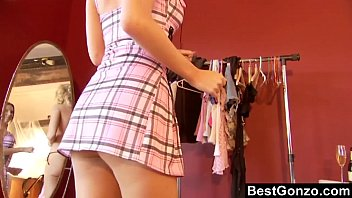 Lesbian clothes shop Drinking unleashes her lesbian longings