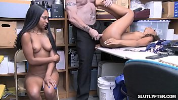 Demi Sutra and Lala Ivery taking turns getting romp by that white cock! Thumb