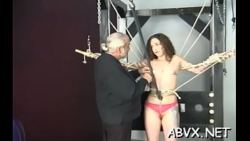 Mature woman extreme bondage in wicked xxx scenes porn image