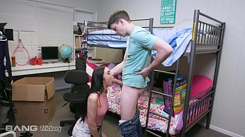 Trickery - College Teen Tricked Into Fucking Her Stepbrother