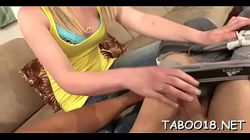Appealing teen with thick wazoo knows how to handle a thick prick