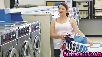 Detergent laundry pleasure simple tide - Laundromat fucking with tiny teen cali hayes