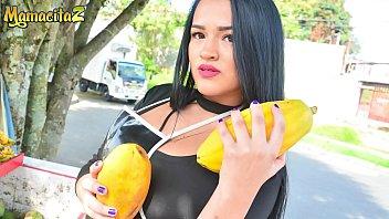 Rosario porn Mamacitaz - fiery latina teen maria del rosario has sex with stranger during her afternoon break