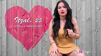 Blind public date between Itzal's BIG TITS and the bullfighter Jesulin