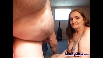 Grandma Sucking On A Cock For An Orgasm