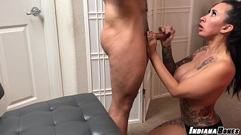 MILF Lily Lane Massage and POV BJ