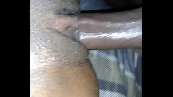 Black couple filming themselves having sex 1st time.