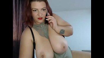 Huge tits milf webcam