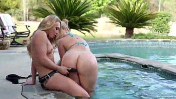 Alexis Texas and AJ Applegate - lesbian  strapon  big ass