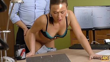 LOAN4K. New bike costs a lot of money so brunette gets pussy drilled