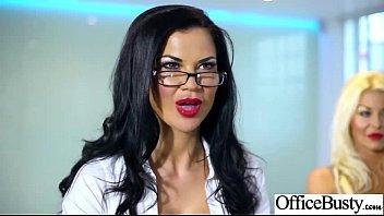 Hardcore Sex Scene In Office With Slut Naughty Busty Girl (jasmine leigh rebecca tia) clip-15