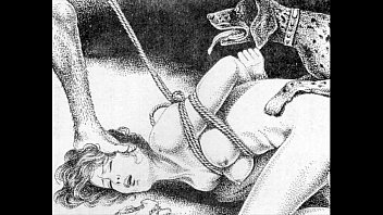 Free asian clip art - Slaves to rope japanese art bizarre bondage extreme bdsm painful cruel punishment asian fetish