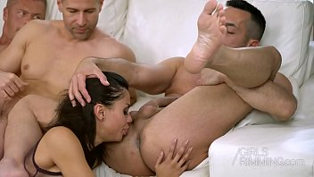 Ass tounge - Colombian pornstar canela skin ass licking 3 guys - girls rimming