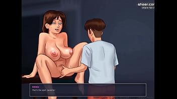 Gorgeous Milf adult breastfeeding l My sexiest gameplay moments l Summertime Saga[v0.18] l Part #10