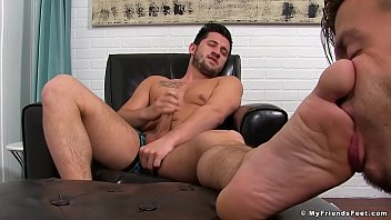 Gay feet friends - Alex gray has his feet licked by his obedient boyfriend