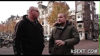 Lustful old lad goes amsterdam