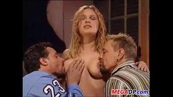 Double Penetration For A Slutty Girl