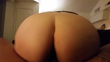 Pawg booty rides bbc backwards