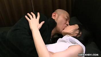 Milf Kana Aizawa Fucks Her S.'s Friend