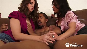 Hardcore hunt sample - Mandy sweet and melisa monet get pounded by the same black dick