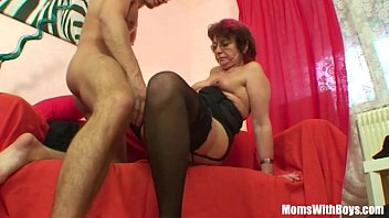 Milf movie son stocking thumb - Emo grandma jana pesova fucked in sexy stockings