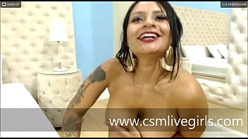 Have fun while licking my tits- By AnnieCooperr- latina webcam