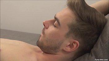 Gay uncut Ataman loves to suck on pauls uncut cock
