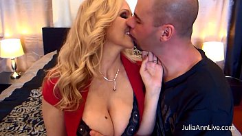 Sexy Milf Julia Ann Fucks Her Husband and Friend!