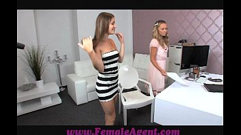 Mature older amateur beautiful women Femaleagent milf strikes it lucky with a vision of beauty