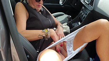I FUCKED HER ON THE MOTORWAY IN THE CAR AND RIDED INSIDE HER. BRUNO
