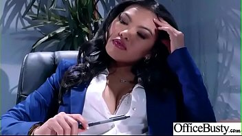 Slut Sexy Girl (Cindy Starfall) With Big Round Boobs In Sex Act In Office video-10