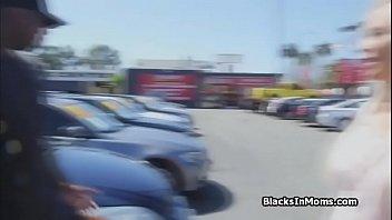 BBCs tag teaming big tit car dealer