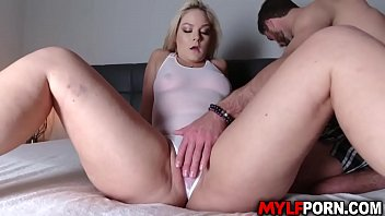 Perfect blonde MILF Lisey Sweet gets ready as she got her body oiled and massage by this horny stud Lucas Frost before getting her pussy fucked.