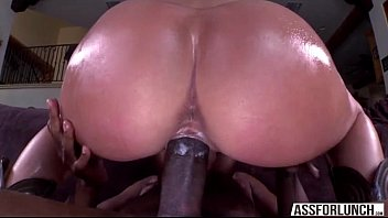 Huge ass Olivia gets jumped on a BBC hardcore interracial