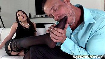Anal sex and footjob with Valentina Nappi