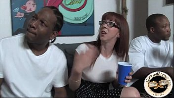 Young wife meets black man for hard sex