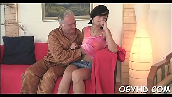 Old man free sex video - Nasty old man fucks young mouth